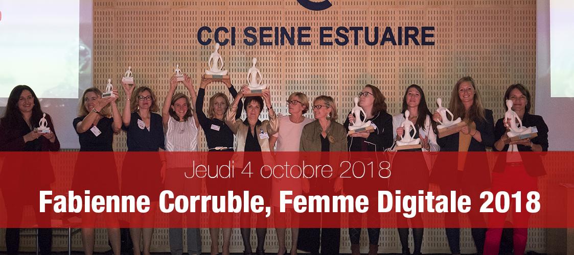 Fabienne Corruble récompensée pour Normandie 360°