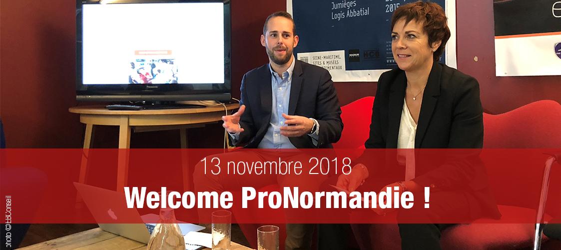 ProNormandie, le 1er agenda professionnel partagé à l'échelle d'une région est normand !