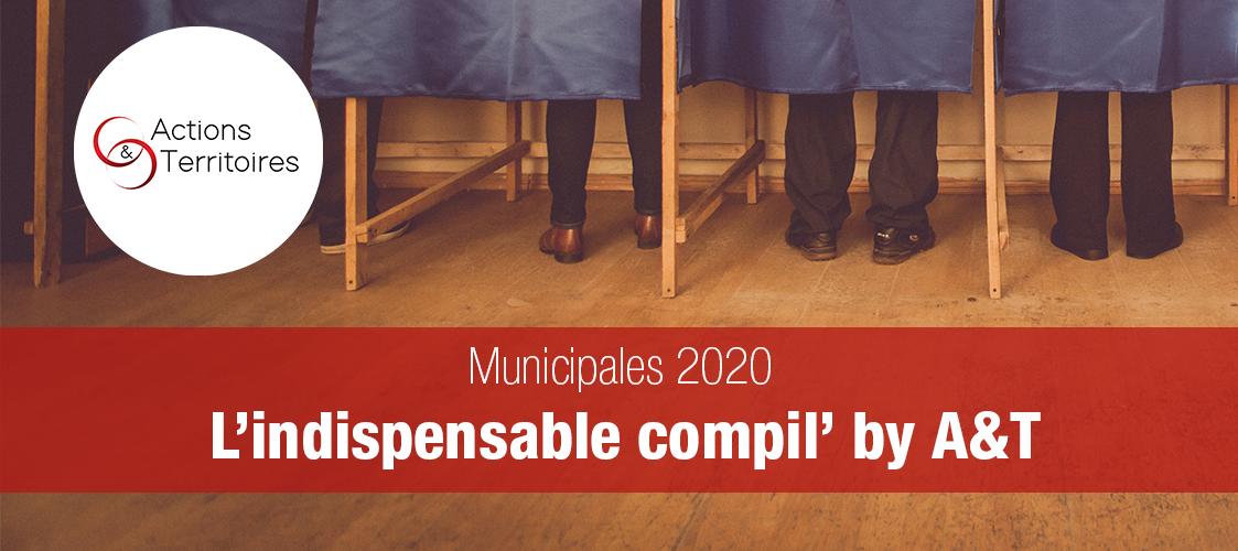 Les municipales 2020 en Normandie, compressées pour vous par Actions&Territoires, jusqu'en juin 2020